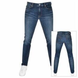 Calvin Klein Jeans Slim Fit Jeans Blue
