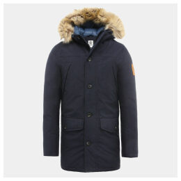 Timberland Boundary Peak Jacket For Men In Navy Navy, Size XXL