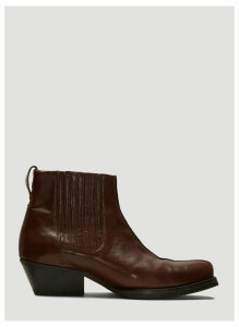 Our Legacy Centre Seam Ankle Boots in Brown size EU - 42