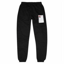 Heron Preston Black Stretch-cotton Sweatpants