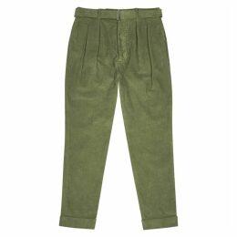 Officine Générale Olive Corduroy Trousers