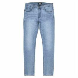 Paige Croft Heather Grey Skinny Jeans