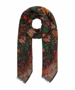Forest Animals Scarf