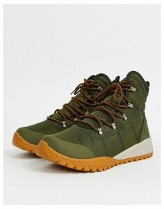 Columbia Fairbanks Omni-heat hiking boot in green