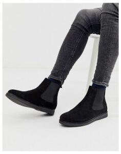H by Hudson calverston chelsea boots black suede