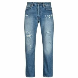 Vetements F Up Logo Jeans
