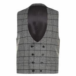 Dolce and Gabbana Check Tarten Waistcoat