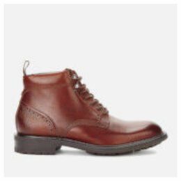 Ted Baker Men's Wottsn Leather Lace Up Boots - Tan - UK 11 - Tan