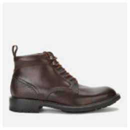 Ted Baker Men's Wottsn Leather Lace Up Boots - Brown - UK 11 - Brown