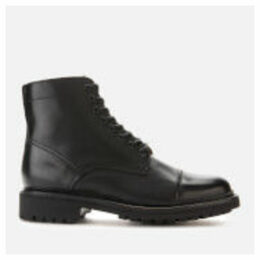 Grenson Men's Joseph Leather Lace Up Boots - Black - UK 11 - Black