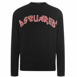 DSquared2 Faded Logo Sweatshirt