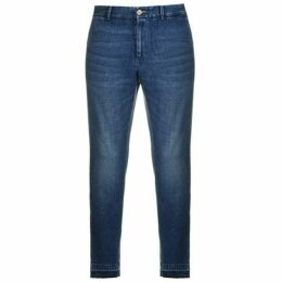 Gucci Cut Off Slim Jeans