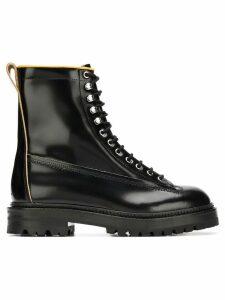 Marni lace-up boots - Black