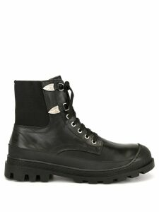 Toga Virilis lace-up boots - Black