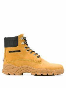 Philipp Plein lace up boots - Neutrals