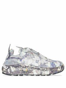 Eytys ocean-print low-top sneakers - Print Ocean Camo