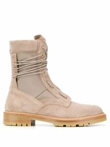 Amiri lace up ankle boots - Neutrals