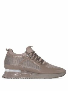 Mallet Footwear diver leather sneakers - Grey