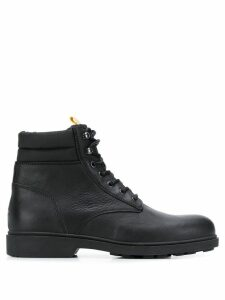Tommy Jeans lace-up ankle boots - Black
