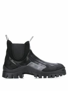 Premiata colour block boots - Black