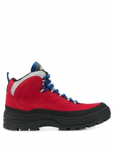 Tommy Jeans Expedition boots - Red