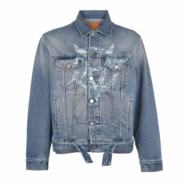 Vetements Anarchy Denim Jacket
