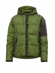 Nemen - Loomit Hooded Quilted Down Jacket - Mens - Green
