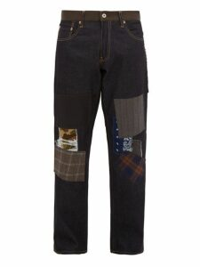 Junya Watanabe - X Levi's Gerard Multi Patch Denim Jeans - Mens - Indigo