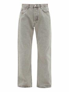 Hope - Rush Straight Leg Jeans - Mens - Grey