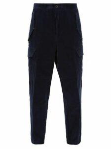 2 Moncler 1952 - Classic Corduroy Track Pants - Mens - Navy