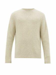 Acne Studios - Nosti Crew Neck Sweater - Mens - Light Green
