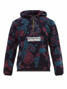 Aries - Half Zip Paisley Fleece Jacket - Mens - Multi