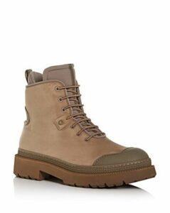 Salvatore Ferragamo Men's Tolk Suede Hiking Boots