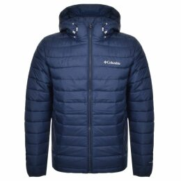 Columbia Powder Lite Padded Logo Jacket Navy