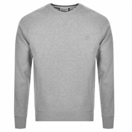 Timberland Logo Sweatshirt Grey