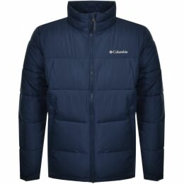 Columbia Pike Lake Padded Logo Jacket Navy