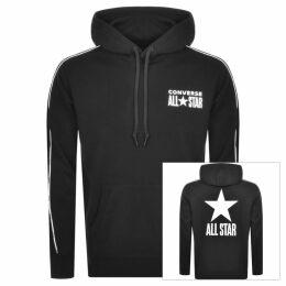 Converse All Star Logo Pullover Hoodie Black