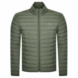 Lacoste Full Zip Jacket Green