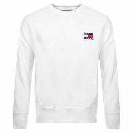 Tommy Jeans Badge Logo Sweatshirt White
