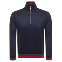 Les Deux Couterly Track Top Sweatshirt Navy