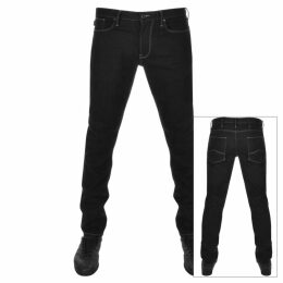 Emporio Armani J06 Slim Fit Jeans Black