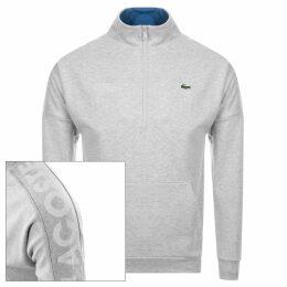 Lacoste Sport Half Zip Sweatshirt Grey