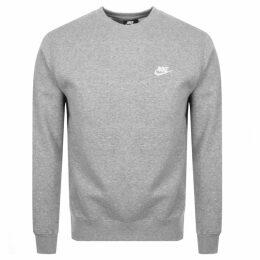 Nike Crew Neck Club Sweatshirt Grey