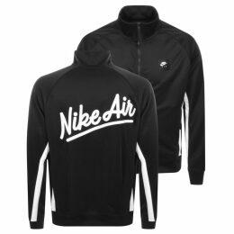 Nike Air Full Zip Track Sweatshirt Black