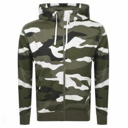Nike Camo Full Zip Hoodie Green