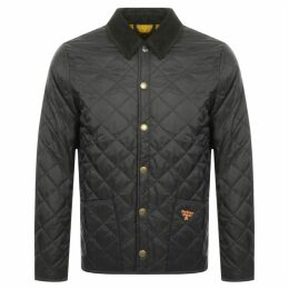 Barbour Beacon Starling Quilted Jacket Green
