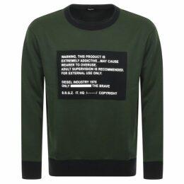 Diesel S Bay Sweatshirt Green