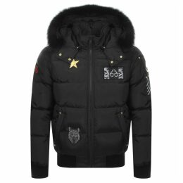 Moose Knuckles Colinton Bomber Jacket Black