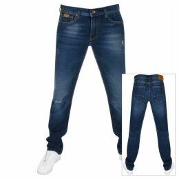 Armani Exchange J16 Straight Fit Jeans Blue