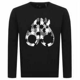 Moose Knuckles Hollyrood Bay Sweatshirt Black